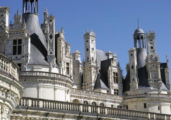 Castle Chambord Roofing Renaissance  - pixphil22 / Pixabay