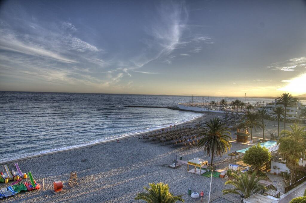 Que visiter à marbella : les plages